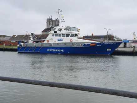 Hier ein Boot aus Schleswig Holstein