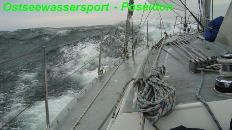 segeln im Sturm